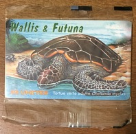 WALLIS & FUTUNA TORTUE VERTE TÉLÉCARTE 25U RÉF PHONECOTE WF35A NSB PHONECARD CARTE A PUCE POUR COLLECTION - Wallis And Futuna