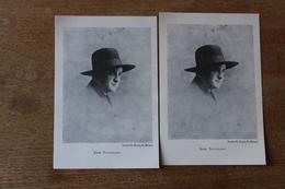 Rare  Autographe   Jean Souvenance Saint Brieuc  Poste Pacifiste Breton - Autographes