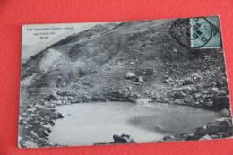 Cuneo Limone Piemonte Il Lago Terrasola Visto Dall' Alto 1908 - Cuneo