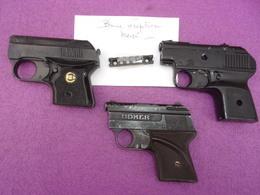 Pistolets D'alarme , Lot De 3 - Armes Neutralisées