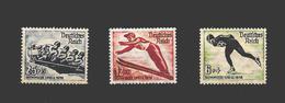 Allemagne Reich Série Complète JO 36 */** - Winter 1936: Garmisch-Partenkirchen