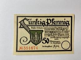 Allemagne Notgeld Meiningen 50 Pfennig - [ 3] 1918-1933 : République De Weimar