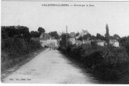 Villaines La Juhel Arrivée Par La Gare - Villaines La Juhel
