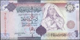TWN - LIBYA 71 - 1 Dinar 2009 Series 7 - Prefix 36ﺝ UNC - Libya