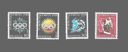 Suisse Série Complète JO 48 ** - Invierno 1948: St-Moritz