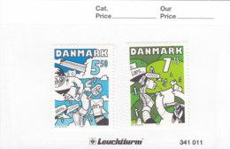 Dänemark 2008 Nr. 1501 - 1502 Europa CEPT Der Brief Postfrisch ** Mnh - Danimarca