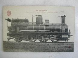 FERROVIAIRE - Locomotive - Coll. F. Fleury - Machine Mixte De La Cie P.L.M. - Série 3000 à 3140 - Trains