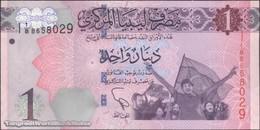 TWN - LIBYA 76 - 1 Dinar 2013 Series 1 - Prefix 8ﺍ UNC - Libya
