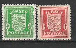 JERSEY OCCUPATION ALLEMANDE 1941 YT N° 1 Et 2 * - Jersey