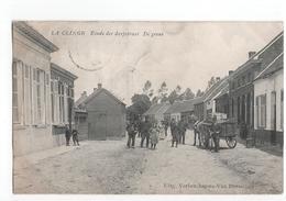 Belgie - La Clinge Klinge  - Einde Der Dorpstraat De Grens  - 1908 - Belgium