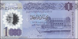 TWN - LIBYA NEW - 1 Dinar 2019 Polymer - Series 2 - Prefix 4ﺍ UNC - Libya