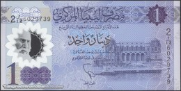 TWN - LIBYA NEW - 1 Dinar 2019 Polymer - Series 2 - Prefix 12ﺍ UNC - Libya