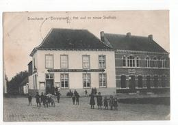 Belgie - Bouchaute Boekhoute - Dorpsplaats - Stadhuis Estaminet - 1908 - Belgique