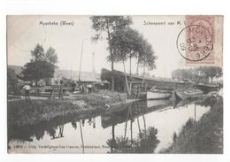 Belgie - Moerbeke Waas - Scheepwerf Van M V - 1909 - Belgique