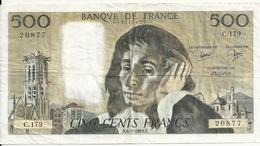 FRANCE 500 FRANCS 1983 VF P 156 E - 1962-1997 ''Francs''