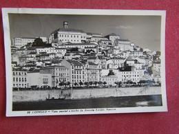 Portugal - Coimbra - Vista Parcial E Trecho Da Avenida Emidio Navarro - Coimbra
