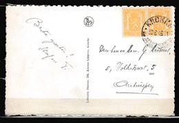Postkaart Van Knokke Naar Antwerpen - 1935-1949 Klein Staatswapen