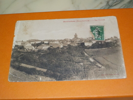 CARTE POSTALE MONTASTRUC VUE GENERALE 1916 - Montastruc-la-Conseillère