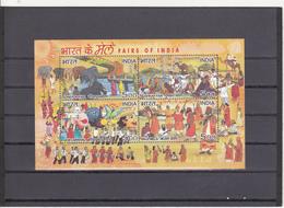 Indien / India 2007 Fairs Of India Miniature Sheet / Blöck *** - India