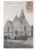 Belgie - Moerbeke Waas - Kerk  Eglise - 1909 - Belgique