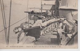 CPA Scènes De Bord - Exercice Du Fusil à Bord D'un Navire De Guerre (belle Scène) - Krieg