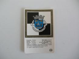 Brasão De Armas De Vila Nova Da Barquinha Portugal Portuguese Pocket Calendar 1987/1988 - Calendarios