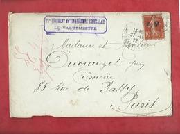 Enveloppe Abîmée  , En Mauvais état  - 15e Régiment De Tirailleurs Sénégalais -  Le Vaguemestre ( Militaire ) - Régiments