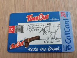 IRELAND /IERLANDE   CHIPCARD 20 UNITS   TIME OUT     ** 1078** - Irland