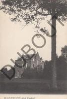 Postkaart-Carte Postale WAANRODE Het Kasteel   (G955) - Kortenaken