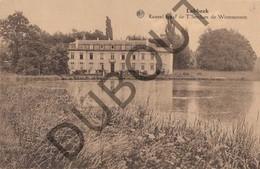 Postkaart-Carte Postale LUBBEEK Kasteel Graaf De T'Serclaes De Wommersom  (G926) - Lubbeek