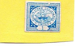 "Sainte Lucie / Lucia - Timbre Privé "" Steam Conveyance "" - St.Lucia (...-1978)"