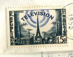 France 1955 - YT 1023 (o) Sur Fragment - France