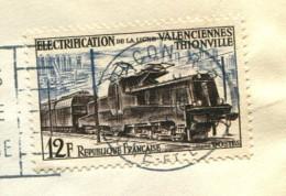 France 1955 - YT 1024 (o) Sur Fragment - France