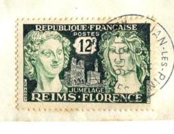 France 1956 - YT 1061 (o) Sur Fragment - France