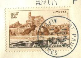 France 1955 - YT 1019 (o) Sur Fragment - France