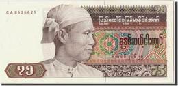 Billet Burma 75 Kyat - Myanmar