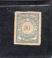 Zittau ( Saxe ) - Express Packet Befoerderung - Poste Privée