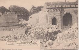 57 - THIONVILLE - DEMANTELLEMENT DE LA PORTE DE LUXEMBOURG - NELS SERIE 100 N° 18 - Thionville