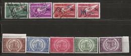 Belgique Chemins De Fer N° 202 à 204 (1938) + 205 à 209 ** (1939) + 210 (1939) - 1923-1941