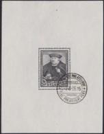 Belgie     .    OBP   .   Blok  4   (2 Scans)        .      O      .       Gebruikt  .   /    .    Oblitéré - Blocks & Sheetlets 1924-1960