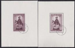 Belgie     .    OBP   .   Blok  15/16         .      O      .       Gebruikt  .   /    .    Oblitéré - Blocks & Sheetlets 1924-1960