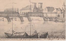 57 - THIONVILLE - L'ANCIEN PONT COUVERT EN 1824 - NELS SERIE 100 N° 27 - Thionville