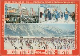 Cartoline - Tematica - Sport Invernali - 1980 - 3S Austria + Flamme Zettersfeld - Dolomitenlauf Lienz - Viaggiata Da Lie - Sports D'hiver