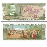 Billet Costa Rica 5 Colones - Costa Rica