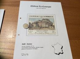 Étiquette De Vin 2000 «CÔTES DU LUBERON - CHÂTEAU LA CANORGUE - MARGAN J.P ET M - Bonnieux (84)» - Côtes Du Rhône
