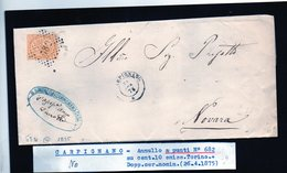 CG29 - Lettera Da Carpignano Per Novara 26/4/1875 - Marcophilia