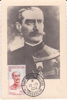 MADAGASCAR ( CM ) Yt 308  309  Général Gallieni  1954 ( MAXIMUM CARD ) Voir Scan Dos - Madagascar (1960-...)