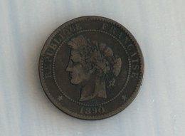 France 10 Centimes 1890 A - France