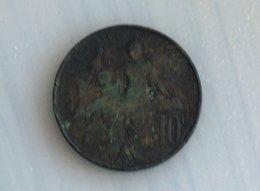 France 10 Centimes 1899 - France