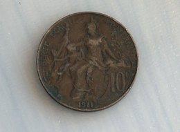 France 10 Centimes 1911 - France